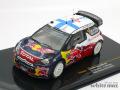 イクソ 1/43 シトロエン DS3 WRC モンテカルロラリー 2012 No.2