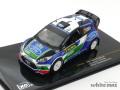 イクソ 1/43 フォード フィエスタ RS WRC スウェーデンラリー優勝 2012 No.3