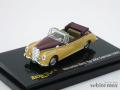 リッコ 1/87 メルセデス 300C カブリオレ 1955 (ゴールド/コーヒー)
