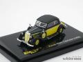 リッコ 1/87 ホルヒ 930V カブリオレ 1939 (ブラック/イエロー)