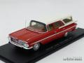 スパーク 1/43 シボレー インパラ ステーション ワゴン 1959 (レッド/ホワイト)
