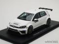 スパーク 1/43 フォルクスワーゲン ゴルフ GTI TCR テストカー 2016