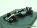 スパーク 1/43 メルセデス F1 W07 ハイブリッド 2016 アブダビGP Nico Rosberg No.6