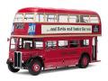 サンスター 1/24 ルートマスター ロンドン バス RT852-JXN230 1948 (レッド)