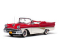 サンスター 1/18 フォード フェアレーン 500 オープン コンバーチブル 1958 (レッド/ホワイト)