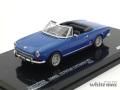 ビテス 1/43 フィアット 124 スパイダー BS 1970 (ブルー)
