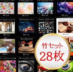 セット商品 竹セット(28枚)