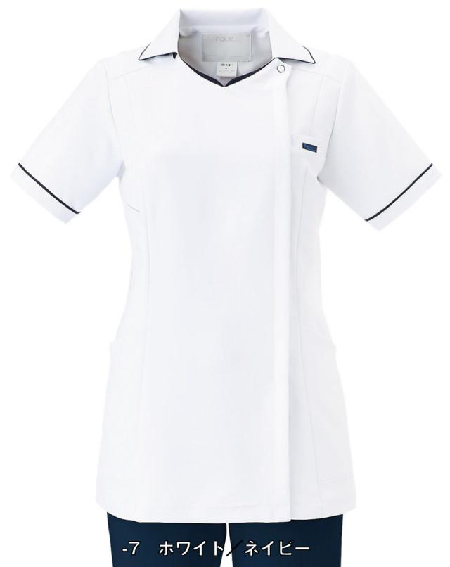 【FOLK】2018EW【ジップアップスクラブ・白衣・半袖上衣】☆2014年新作商品☆