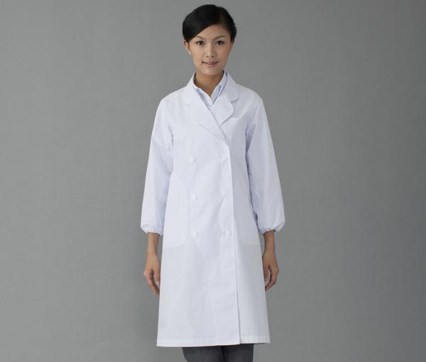 【FOLK】2506【ドクターコート・白衣・ダブル医療衣】