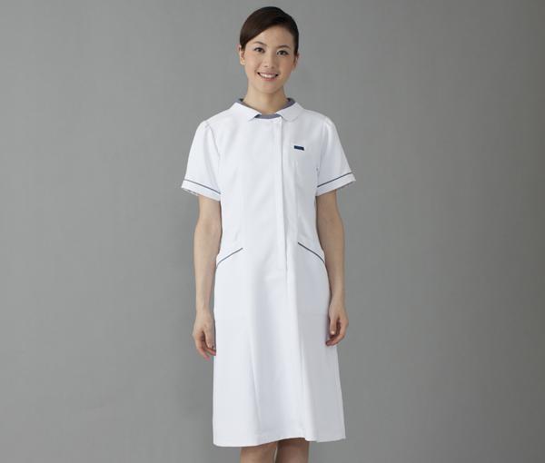 【FOLK】3015EW【ワンピース・半袖ナースウェア・白衣】