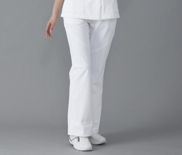 【FOLK×Wacoal】HI300【ワコール・ブーツカットパンツ・白衣】