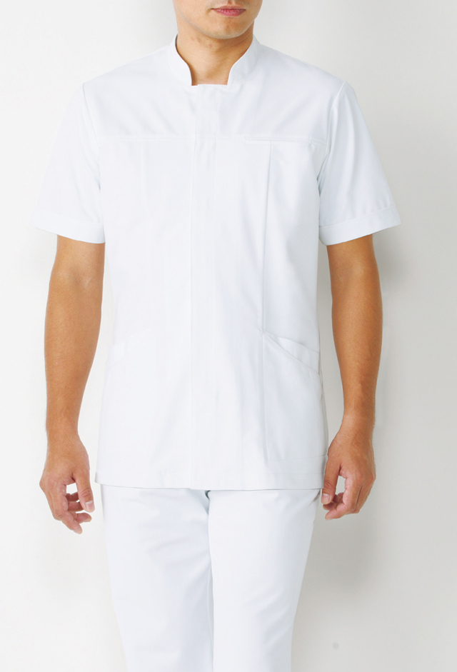 【KAZEN(旧アプロン)】093【男性用上衣・白衣・メンズ】