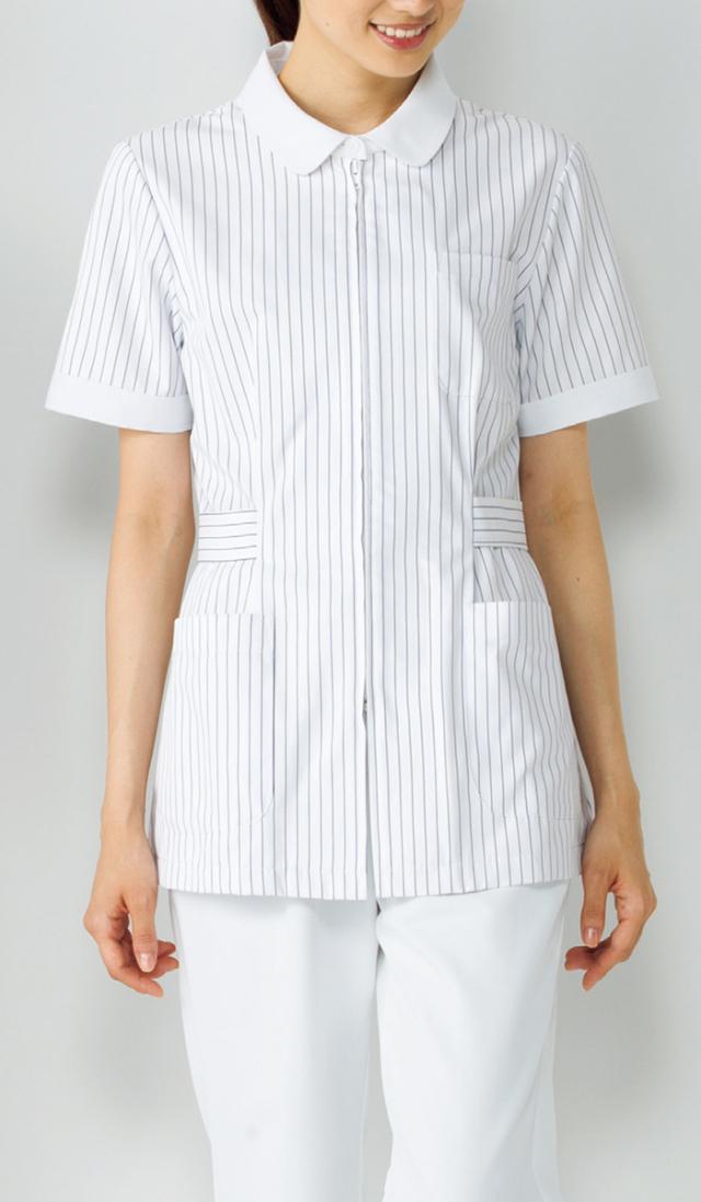 【KAZEN(旧アプロン)】149【ナースジャケット・半袖ナースウェア・上衣・レディース】