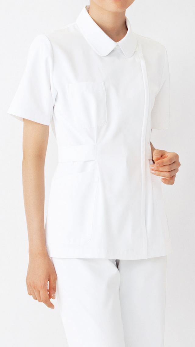 【KAZEN(旧アプロン)】271【ナースジャケット・半袖ナースウェア・上衣・レディース】