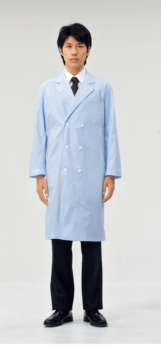 【モンブラン】51-613【ドクターコート(メンズ)・白衣・男子診察衣】
