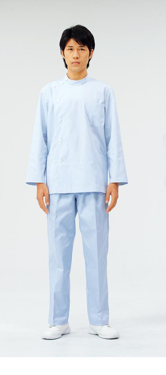 【モンブラン】52-603【ケーシー(KC)・男性白衣・上衣】