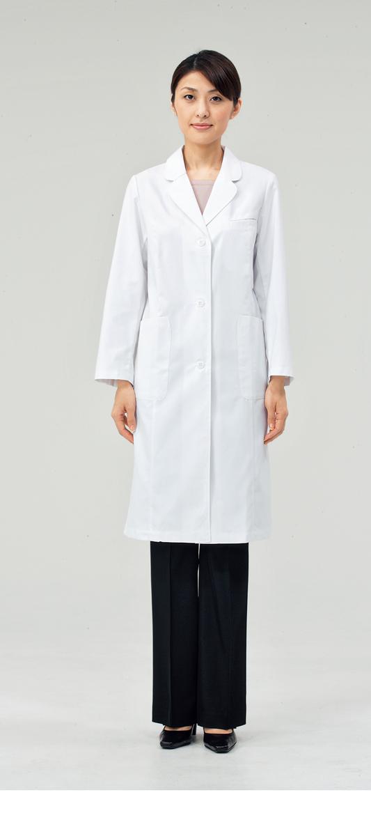 【モンブラン】71-121【ドクターコート(レディス)・白衣・診察衣】