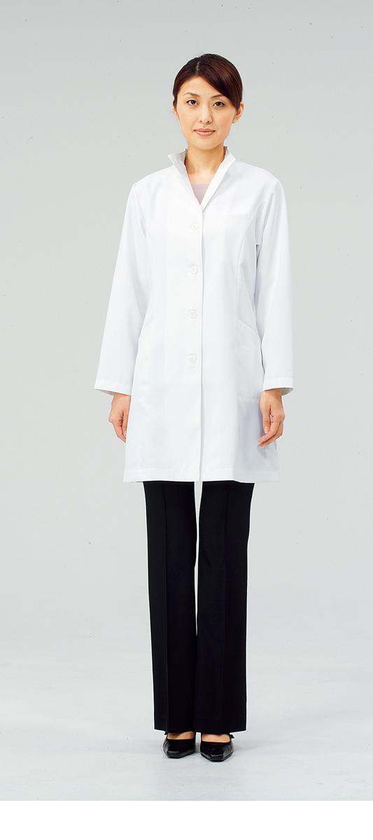 【モンブラン】71-221【ドクターコート(レディス)・白衣・診察衣】