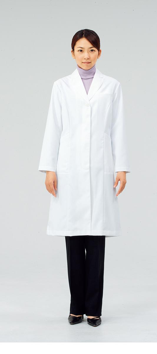 【モンブラン】71-231【ドクターコート(レディス)・白衣・診察衣】