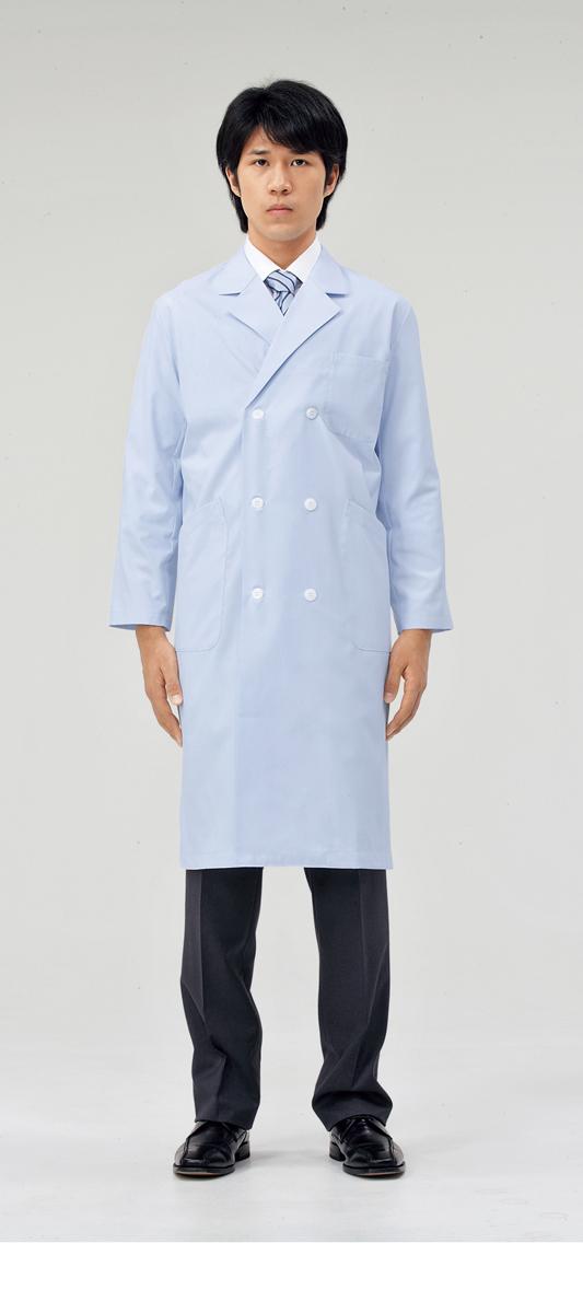 【モンブラン】71-673【ドクターコート(メンズ)・白衣・男子診察衣】