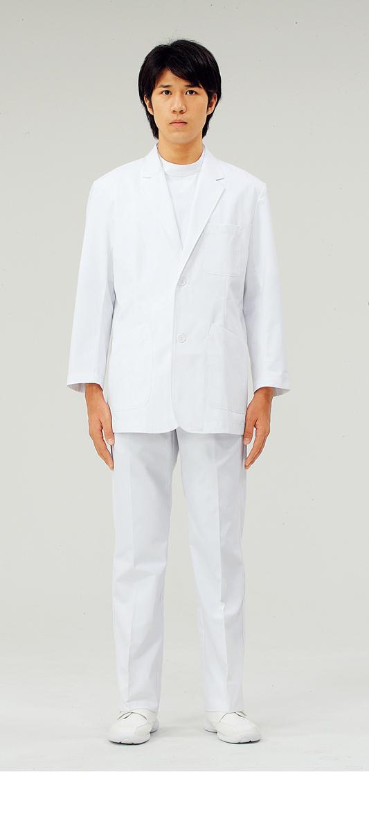 【モンブラン】71-901【ドクターブレザー(メンズ)・男子白衣・上衣】