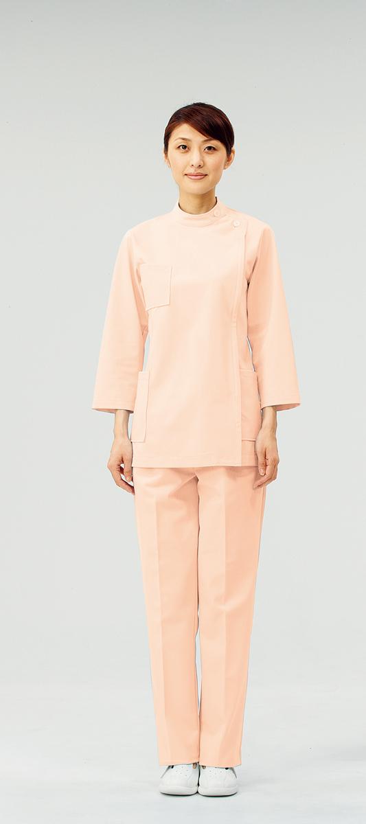 【モンブラン】72-211【ケーシー(KC)・白衣・8分袖上衣】