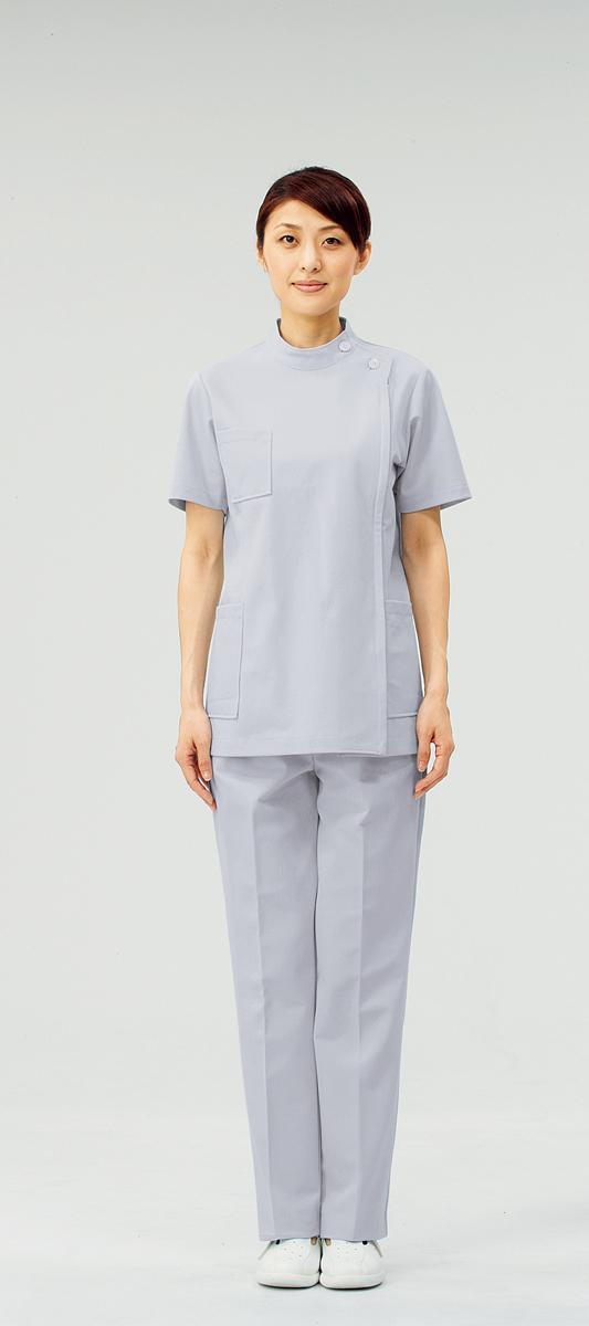 【モンブラン】72-216【ケーシー(KC)・白衣・半袖上衣】