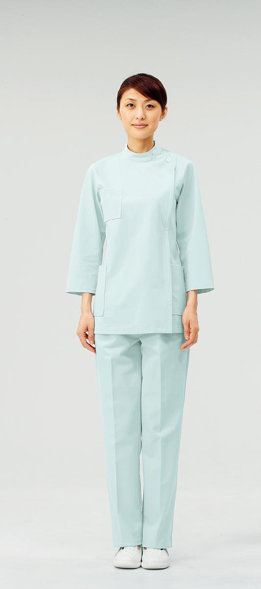 【モンブラン】72-217【ケーシー(KC)・白衣・8分袖上衣】