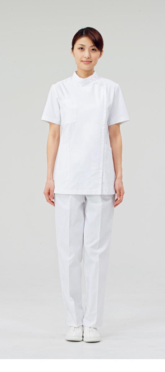 【モンブラン】72-352【ケーシー(KC)・白衣・半袖上衣】