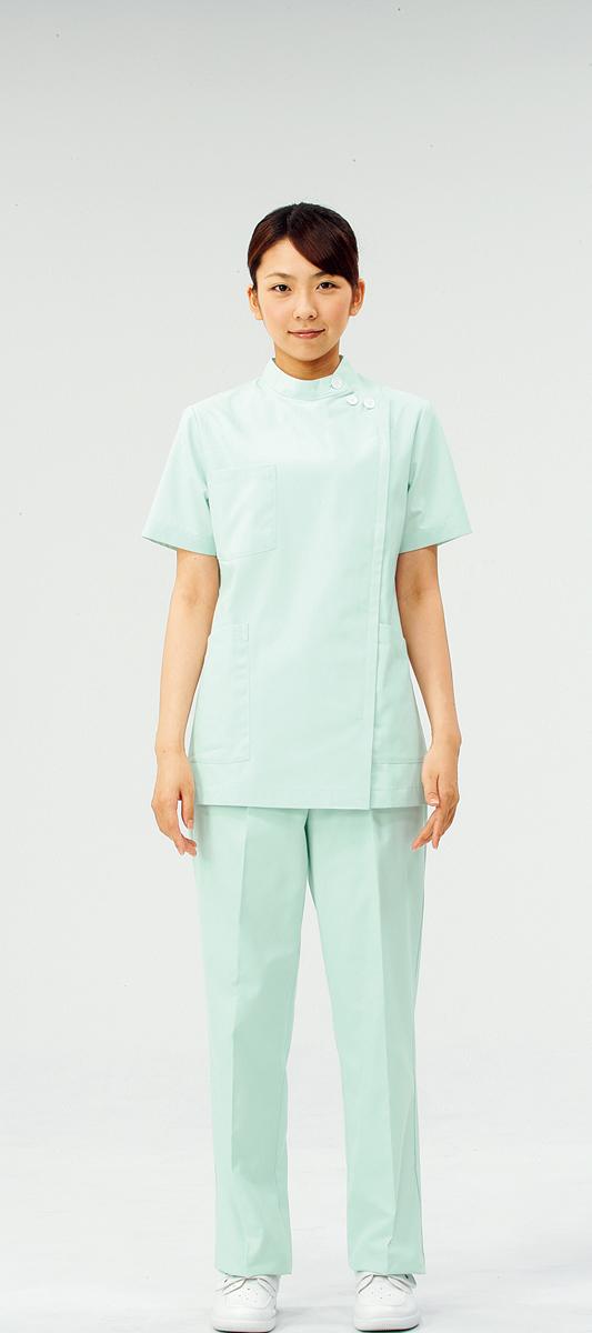 【モンブラン】72-358【ケーシー(KC)・白衣・半袖上衣】
