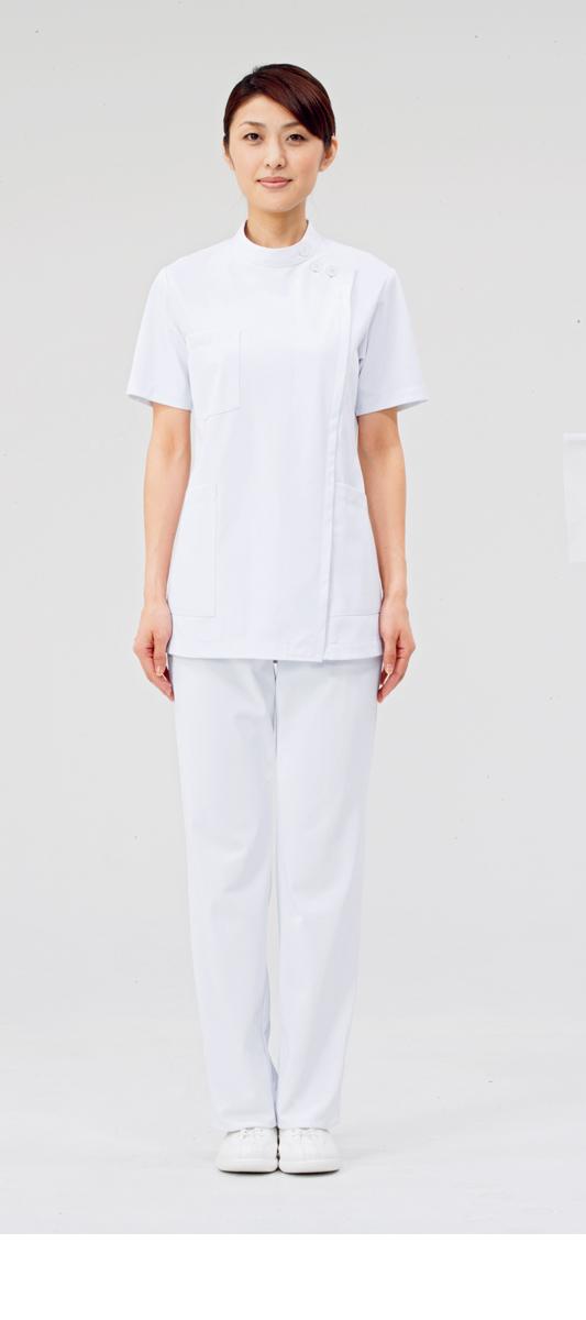 【モンブラン】72-362【ケーシー(KC)・白衣・半袖上衣】