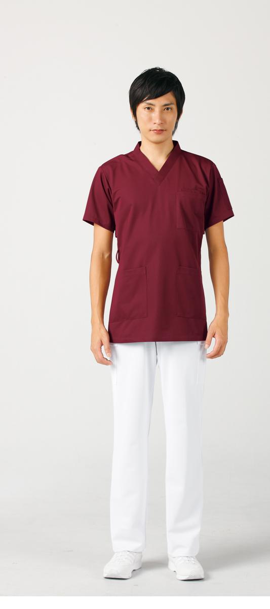 【モンブラン】72-616【ジャケット(男女兼用)・白衣・半袖スクラブ】