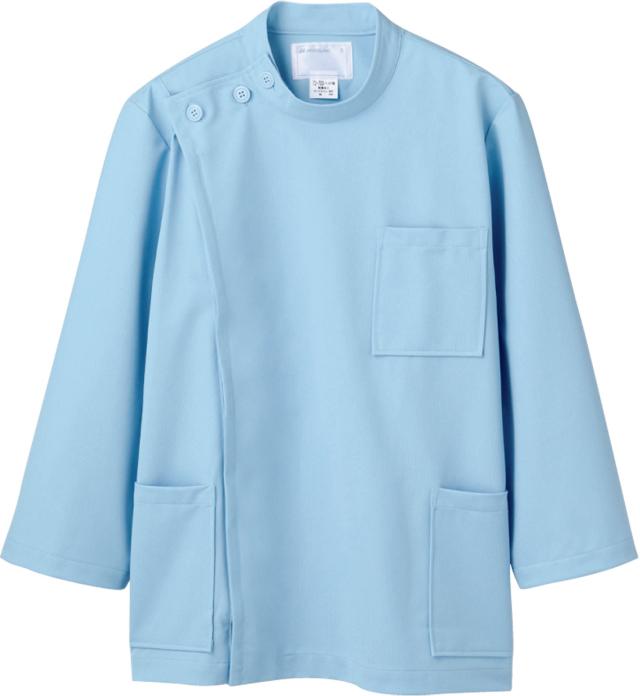 【モンブラン】72-703【ケーシー(KC)・男子白衣・8分袖上衣】