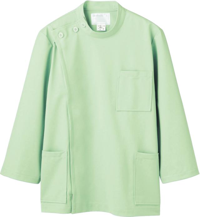 【モンブラン】72-707【ケーシー(KC)・男子白衣・8分袖上衣】