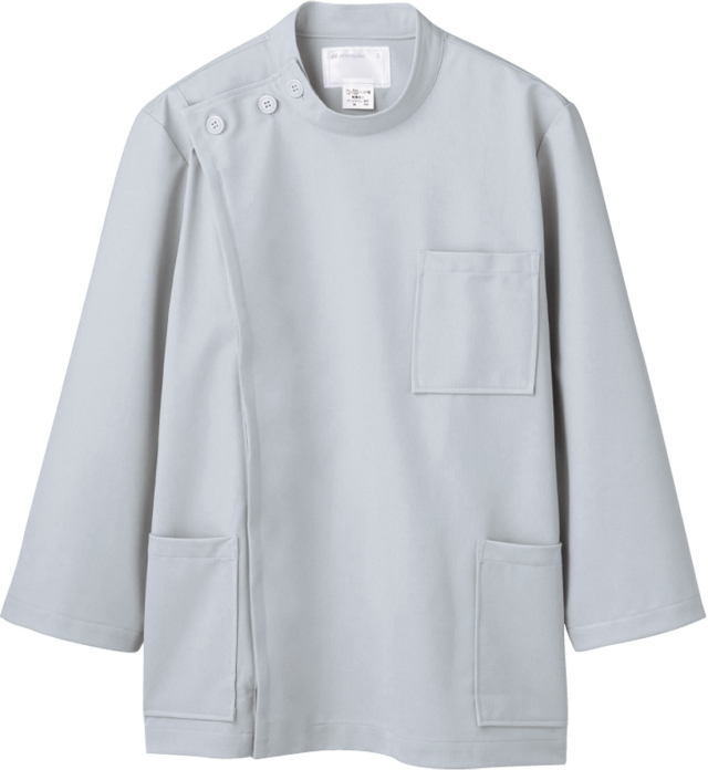 【モンブラン】72-715【ケーシー(KC)・男子白衣・8分袖上衣】