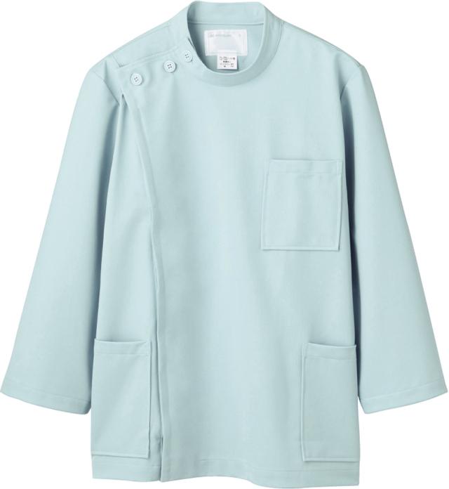 【モンブラン】72-717【ケーシー(KC)・男子白衣・8分袖上衣】