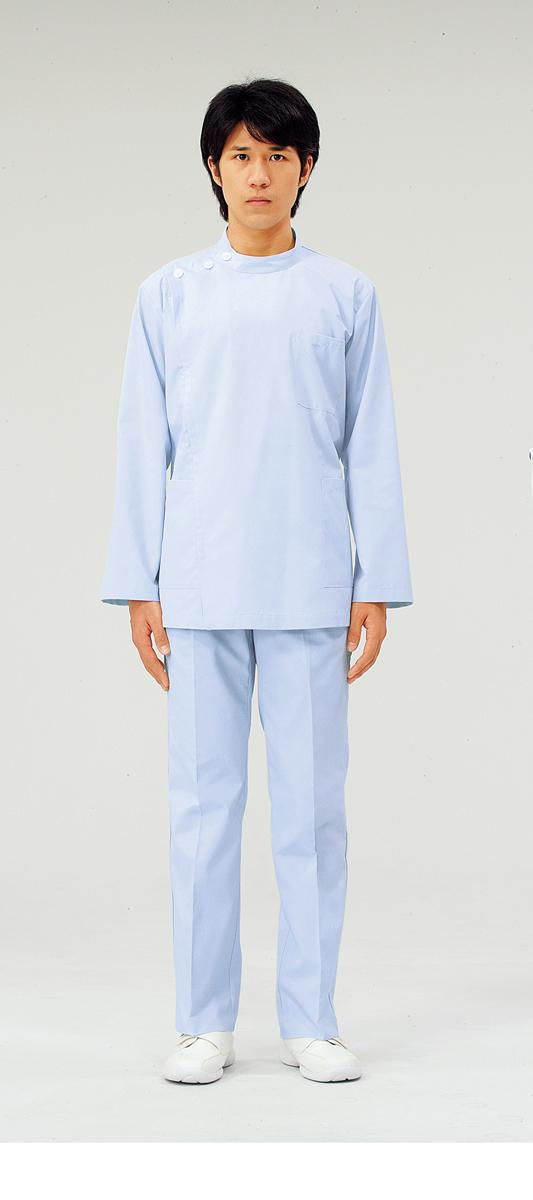 【モンブラン】72-955【ケーシー(KC)・男子白衣・上衣】