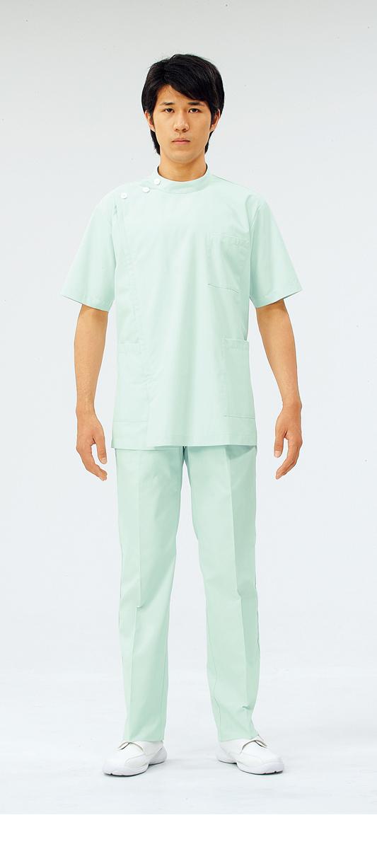 【モンブラン】72-958【ケーシー(KC)・男子白衣・半袖上衣】