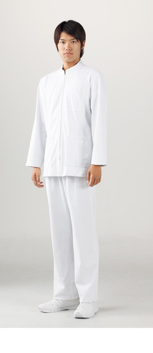 【モンブラン】72-981【ケーシー(KC)・男子白衣・上衣】