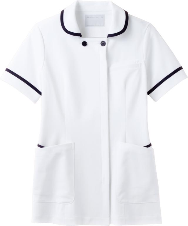 【モンブラン】73-1808【ナースジャケット・半袖ナースウェア・上衣】