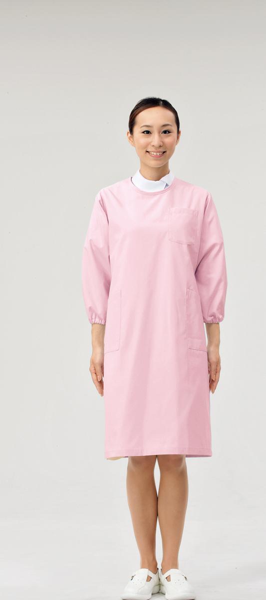 【モンブラン】74-403【予防衣(男女兼用)・白衣】