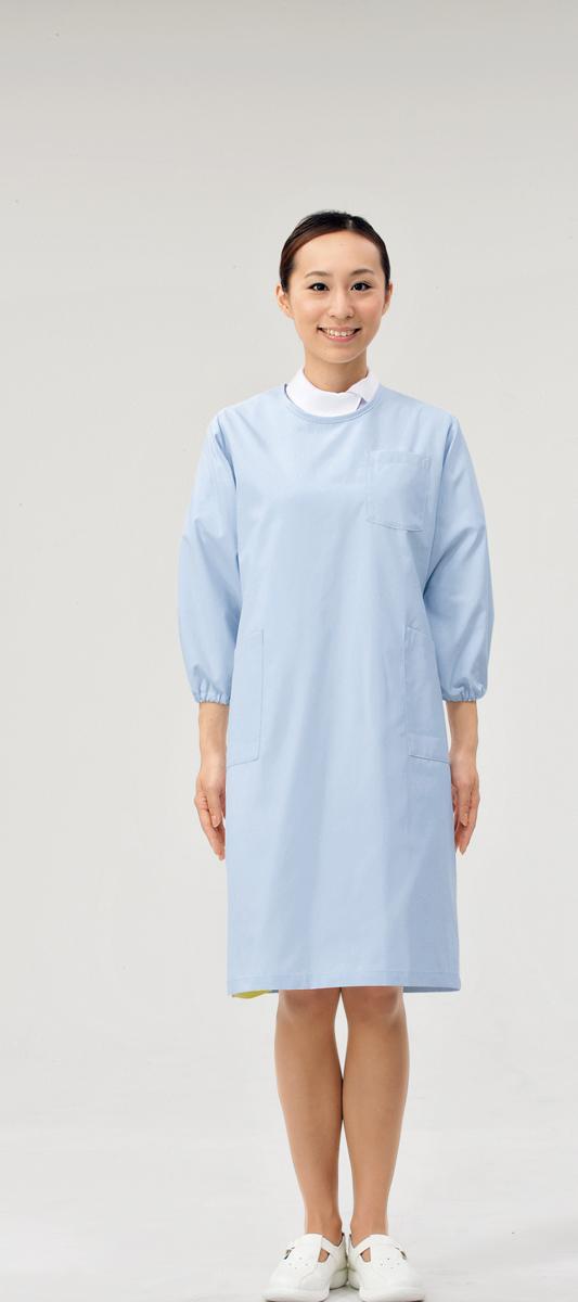 【モンブラン】74-405【予防衣(男女兼用)・白衣】