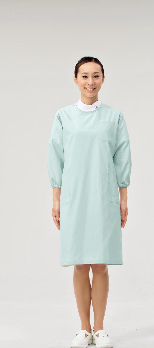 【モンブラン】74-407【予防衣(男女兼用)・白衣】