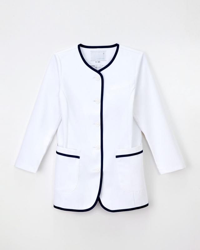 【ナガイレーベン】EH-2880【白衣・ナースウェア・長袖上衣・ジャケット】