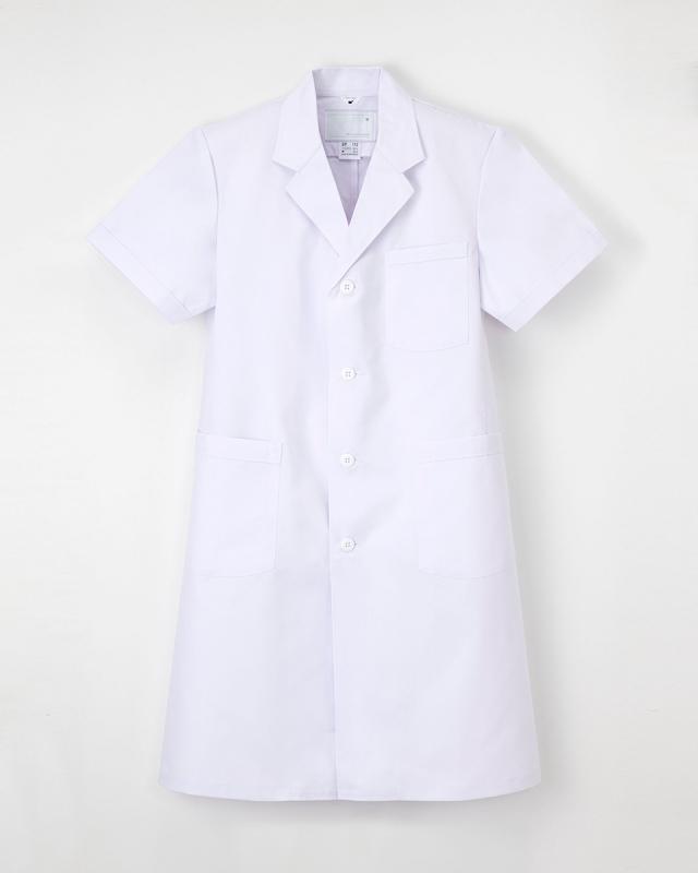 【ナガイレーベン】EP-112【男性白衣・・半袖診察衣】