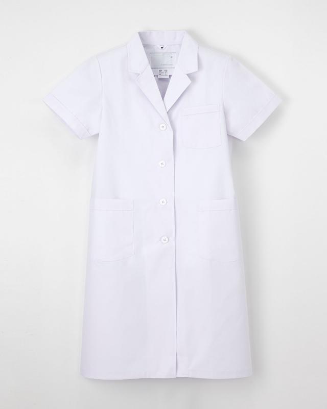【ナガイレーベン】EP-132【白衣・・半袖診察衣】