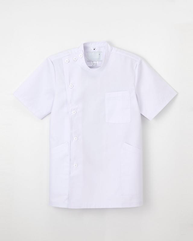 【ナガイレーベン】EP-167【メンズ白衣・半袖・KC】