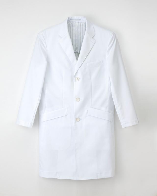 【ナガイレーベン】FD-4000【ハイクラスドクターコート・シングル・Y体・白衣・男性用・メンズ】☆2015年新作商品
