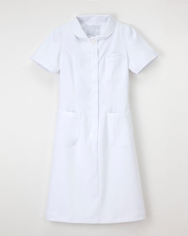 【ナガイレーベン・白衣】FT-4417【ナースウェア・ワンピース】