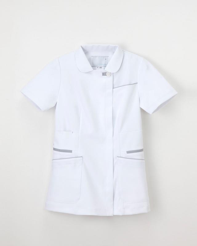 【ナガイレーベン】FT-4622【レディース半袖上衣・白衣・ナースウェア】☆2015年新作商品